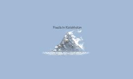 Fossils in Kazakhstan