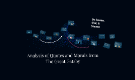 Copy of Analysis of Quotes and Morals from The Great Gatsby