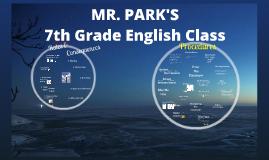 Mr. Park's Procedures 2015