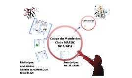 Copy of PFC Coupe du monde des clubs Maroc 2013/2014