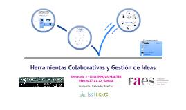 Herramientas Colaborativas y Gestión de Ideas