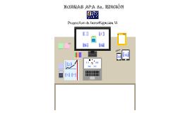 Proyecto bajo Normas APA 6a. Edición