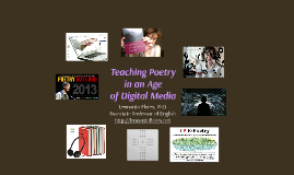 Teaching Poetry in an Age of Digital Media