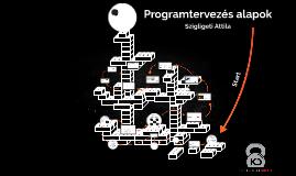 Programtervezés alapok