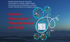 estructura administrativa y planes estrategicos de pdvsa
