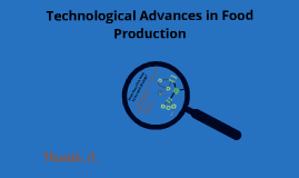 Technological Advances in Food Production