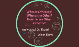 What is Othering?