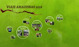 VIAJE AMAZONAS 2018