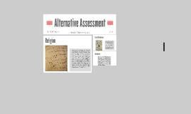 Alternative Assesment