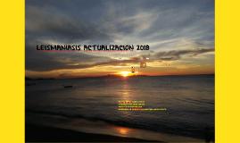 LEISHMANIASIS VISCERAL 2018