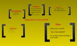 Copy of Web Page Evaluation