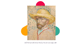 Self-Portrait with Straw Hat by Vincent van Gogh, 1887