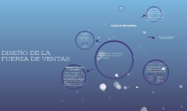 Copy of DISEÑO DE LA FUERZA DE VENTAS