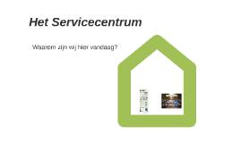 Het Servicecentrum