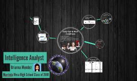 Intelligence Analyst