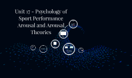 Unit 17 A2 - DAL - Part 2 (P4/M3) - Psychology of Sports Performance, Arousal and Arousal Theories