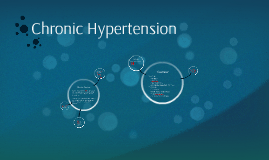 Copy of Chronic Hypertension