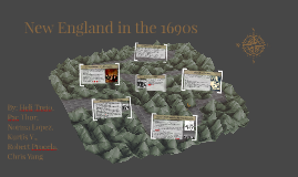 New England in the 1690s
