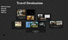 Copy of Travel Destination