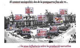 El context sociopolític de la postguerra