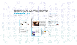 Copy of HIGH SCHOOL WRITING CENTERS