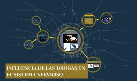 INFLUENCIA DE LAS DROGAS EN EL SISTEMA NERVIOSO