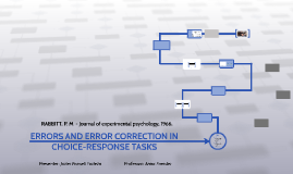 Copy of ERRORS AND ERROR CORRECTION IN CHOICE-RESPONSE TASKS