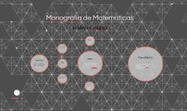 Monografia de Matemáticas