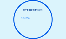 My Budget Project