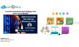 Windows Server 2016 - Grupos do Active Directory