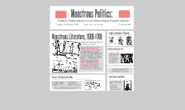 Monstrous Politics