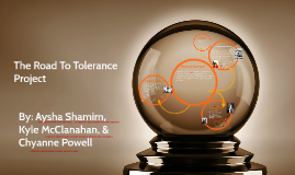 Road to Tolerance Project