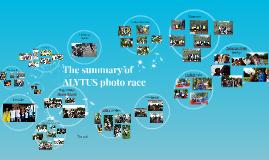 The summary of  Alytus photo race