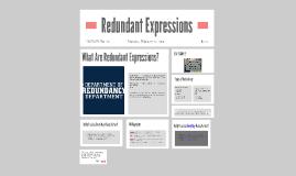 Redundant Expressions