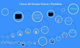 Líneas del tiempo Femsa - Postobon.