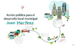 Acción pública para el desarrollo local