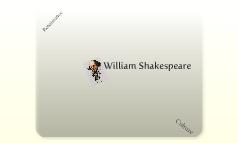 Shakespeare + Culture