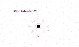 Mijn talenten - evaluatie bezinning