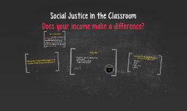 Social Justice in the Classroom