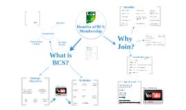 Benefits of BCS Membership