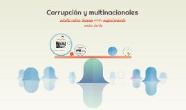 Corrupcion y multinacionales