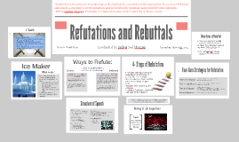 Copy of Refutation and Rebuttals