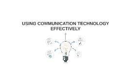 COMMUNICATION TECHNOLOGIE