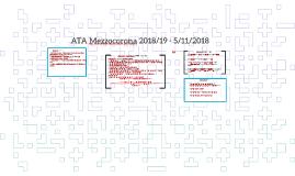 ass ata Mezzocorona 2018/19