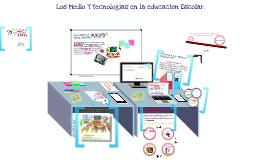 LOS MEDIOS Y TECNOLOGIAS EN LA EDUCACION ESCOLAR UMG 2,016