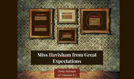 Miss Havisham from Great Expectations