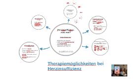 Therapiemöglichkeiten bei Herzinsuffizienz