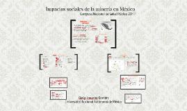 Impactos sociales de la minería en México