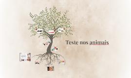 Teste nos animais