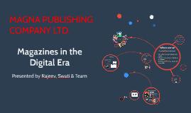 Copy of Magazines in the Digital Era
